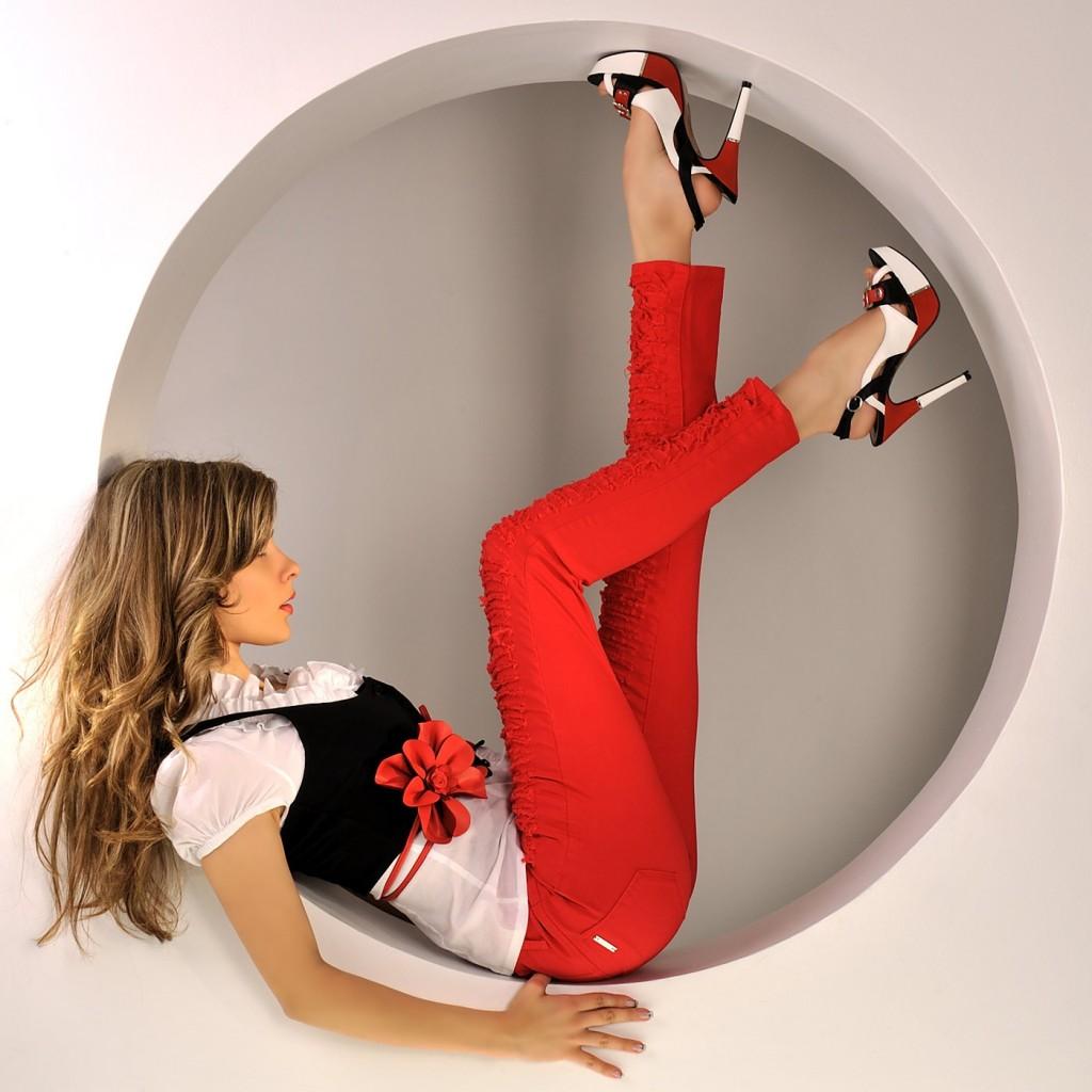 la mode rouge
